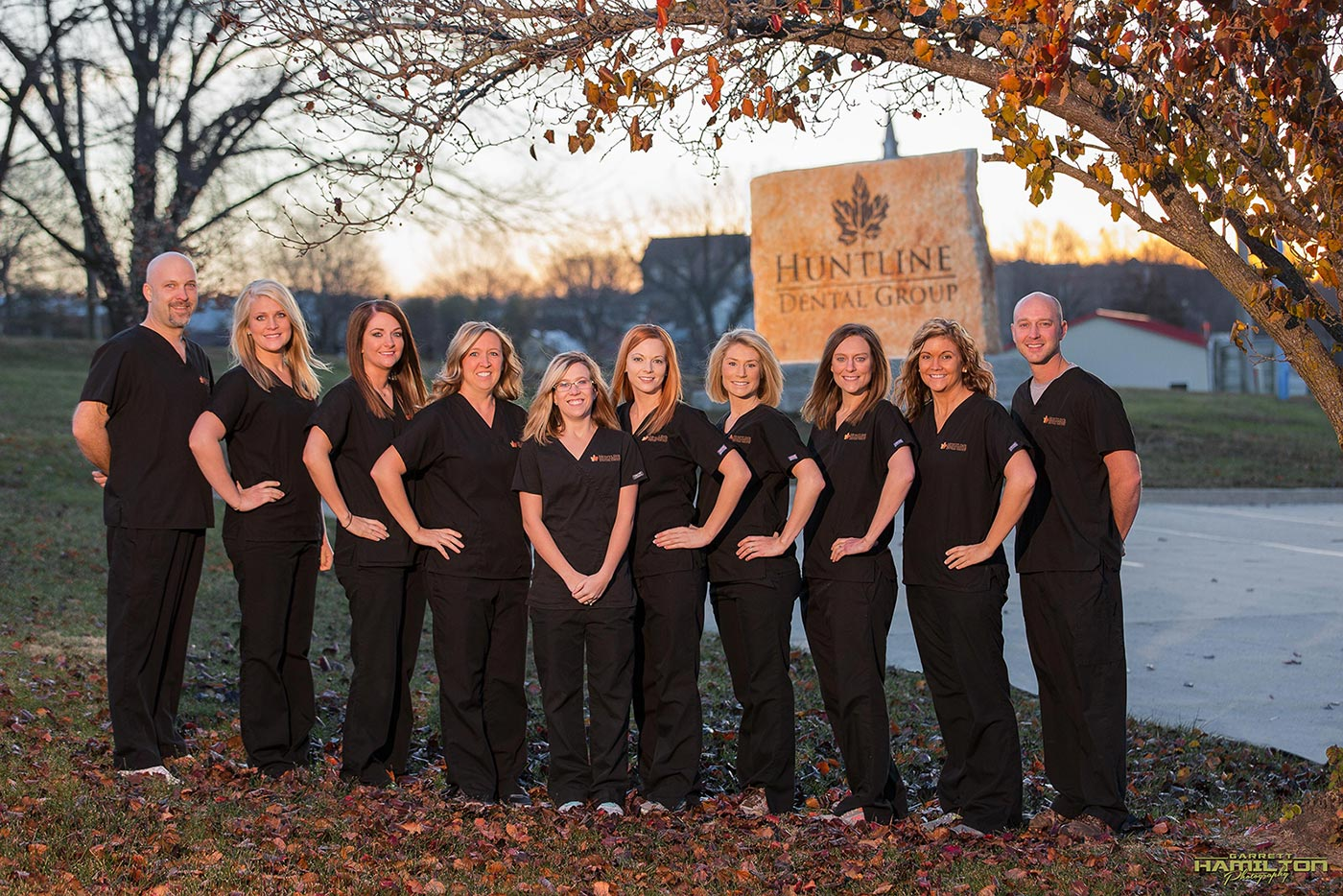 missouri dentist, huntline dental group photo, off camera flash, jefferson city dentist